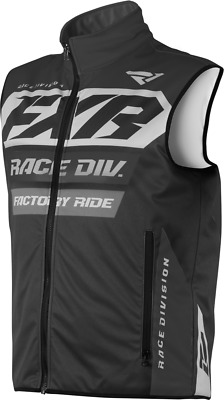 New 2019 FXR RR Insulated Motocross Enduro Vest Black OPS