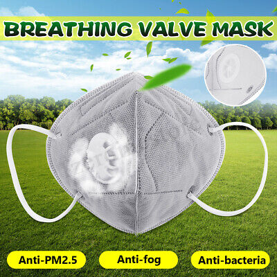 Activated Carbon Filter Adults Dust Mask Dust Smoke Anti-smog Breathing Outdoor