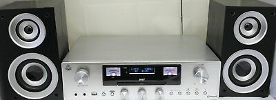 GPO PR200 Retro Amplifier Speakers DAB/CD/Bluetooth/Aux Very good condition