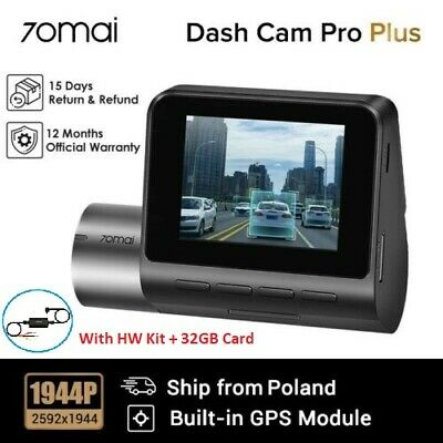 Xiaomi 70mai Dash Cam Pro ADAS Voice Control 1944P HD Smart Car DVR Camera W GPS