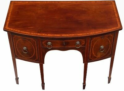 Antique quality Georgian flame mahogany sideboard chiffonier C1820