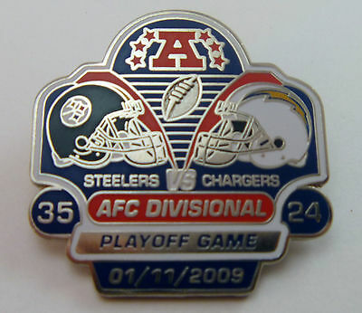 Pittsburgh Steelers vs San Diego Chargers 2008 AFC Divisional Playoff Pin XLIII