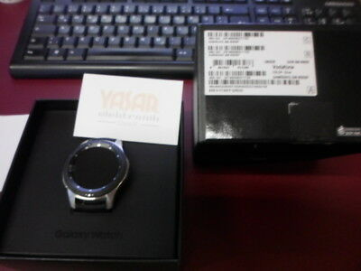 LTE Samsung Galaxy Watch Smart 46mm Fitnesstracker Armbanduhr silber sm-r805f