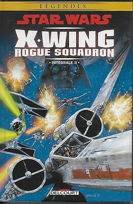 Star Wars X-Wing Rogue Squadron Integrale Ii  - Delcourt - Stackpole