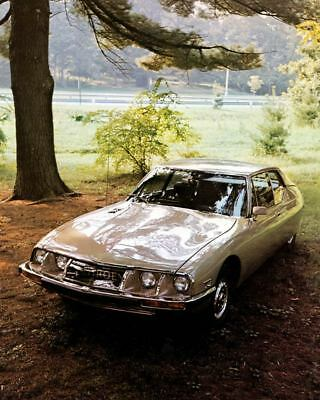 1972 Citroen SM Factory Photo c3311-2SZKCB