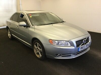 2012 Volvo S80 3.0L T6 Awd Se Lux G/t Auto *nav, Sunroof & Leather* With History