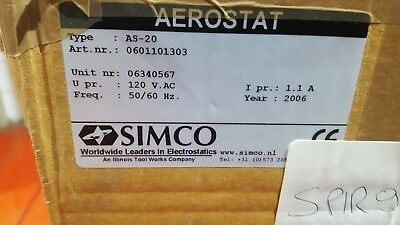 Simco Aerostat As-20 0601101303 Blower / Heater (Br6.4)