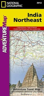 India, Northeast: Travel Maps International Adventure Map by National Geographic