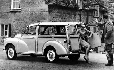 1967 Morris 1000 Traveller Station Wagon Factory Photo c3773-BRQH77