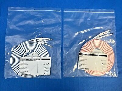 Set of Zimmer 60-4017/8-001-00 Dual Hose ATS 1500/2000/3000/4000 Tourniquet Hose
