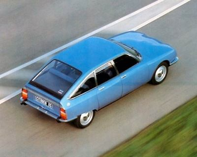 1979 Citroen GS Factory Photo c4229-PPBEDE