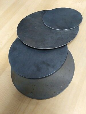 mild steel plasma cut disc circle/blank/washer/round 3/5/10mm thickness