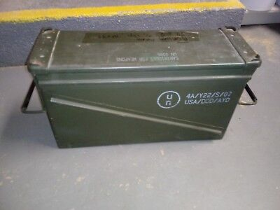 Large Heavy Duty Military Ammo Can Easily Holds 1,800 7.62x39 - Good Rubber Seal