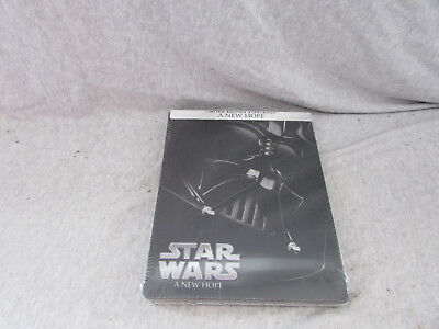 New Blu-Ray Star Wars A New Hope Steelbook Limited Edition Sealed
