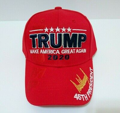 MAGA Make America Great Again Donald Trump 2020 Red Hat