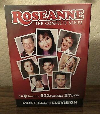 Roseanne The Complete Series DVD All 9 Seasons NEW