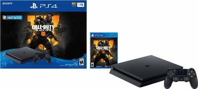 PlayStation 4 Slim 1TB Call of Duty: Black Ops 4 Console Bundle