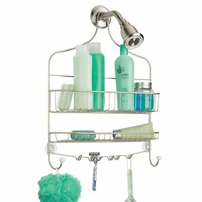 Over Shower Head Caddy Hanging Storage Organiser Accessory Rust Free