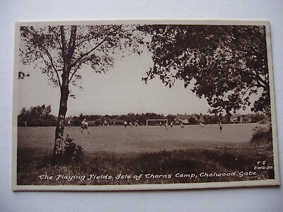 The Playing Fields, Isle of Thorns Camp, Chelwood Gate - vintage postcard