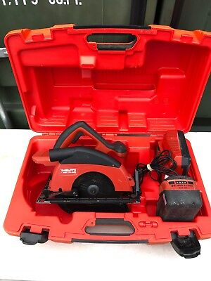 Hilti WSC 70-A36 36v Cordless 190mm Circular Saw Inc 3.9Ah C4/36-350