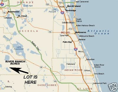River Ranch Acres, Florida Vacant Recreational Parcel FLORIDA BIDS ONLY!!!