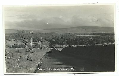 SCOTLAND - GENERAL VIEW of LAMMERLAW, Real Photo Postcard  (South Lanarkshire)