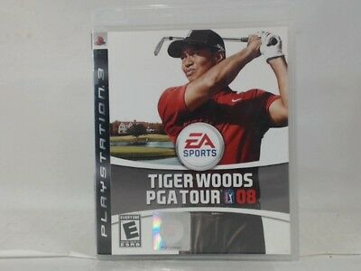TIGER WOODS PGA TOUR 08 Playstation 3 PS3 Complete CIB w/ Box, Manual Good