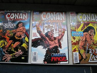 Conan The Ursuper 1-3 Complete Mini Read Once! Marvel Greatness!