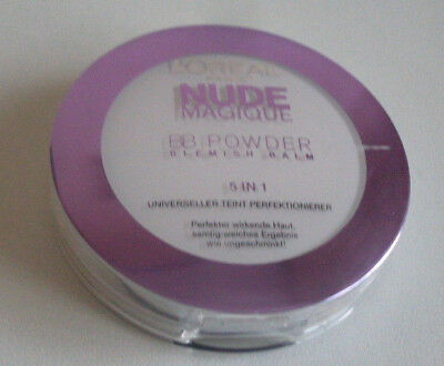 L'oreal Nude Magique Bb Powder 5 In 1 Foundation Powder - Light - New