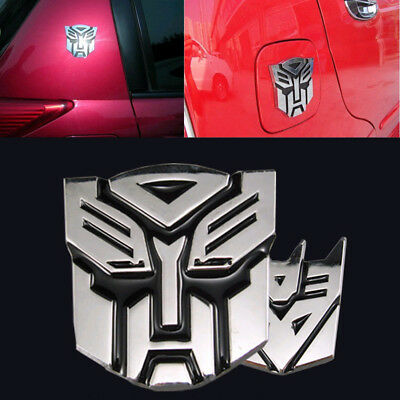 3D Autobot Transformers Optimus Prime Emblem Badge Graphics Decal Car Sticker HH