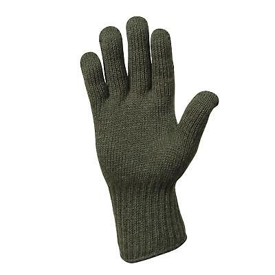 Military Issue D3A Cold Weather Glove Liners 75% Wool 25% Nylon Size 4 Medium