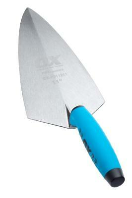 "OX TOOLS Pro 12"" Philadelphia 300mm Solid Forged Steel Hand Brick Trowel,P011212"
