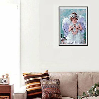 DIY Unique Art Painting Angel Girl S061 Diamond Painting Wall Decoration E