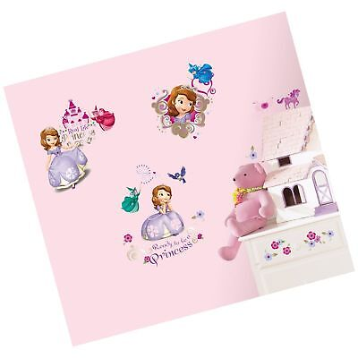 PRINCESS SOFIA THE FIRST STICKER WALL DECAL OR IRON ON TRANSFER T-SHIRT LOT S5