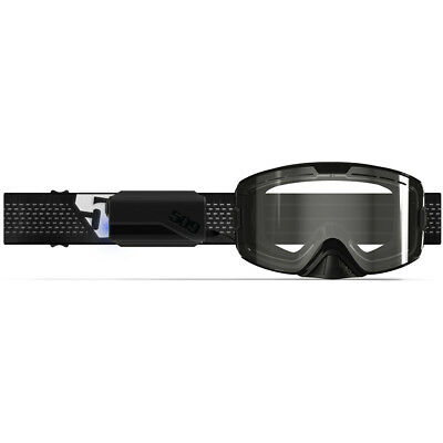 2019 509 KINGPIN Snow Snowmobile IGNITE Heated Goggles -NIGHT VISION- Clear Lens