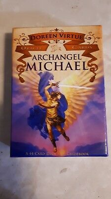 Archangel Michael 44 Oracle Tarot Cards And Guide Book Doreen Virtue 2009