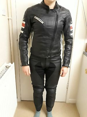 a5d8a216b7c7 Ladies size 44 Dainese  1972  Leather Jacket +Dainese Pony C2 Leather  Trousers