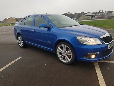 2010 SKODA OCTAVIA VRS 170 BHP TDI CR Blue Diesel 2Previous Owner FULL HISTORY!