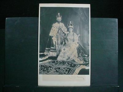 NobleSpirit {3970} King George IV & Queen Mary Signatures on Photo, 1941