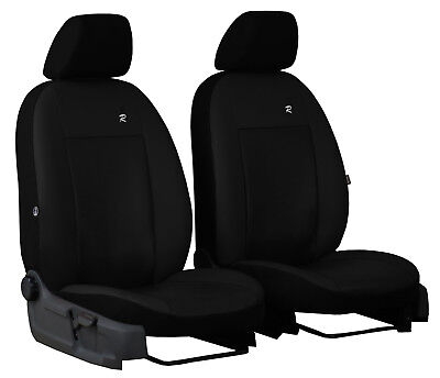 Volkswagen Caddy Maxi Furgon 2015 Present Eco Leather Front Tailored Seat Covers