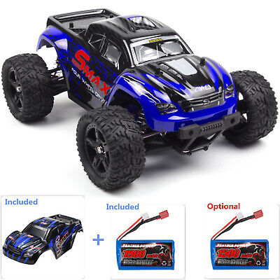 REMO 1:16 Monster Truck 2.4G 4WD Off-Road Brushed High Speed Remote Control Car
