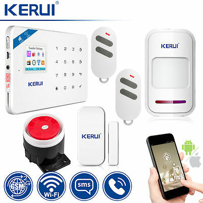 KERUI W18 GSM SMS Wireless Home Burglar Alarm Security System Accessories Lot