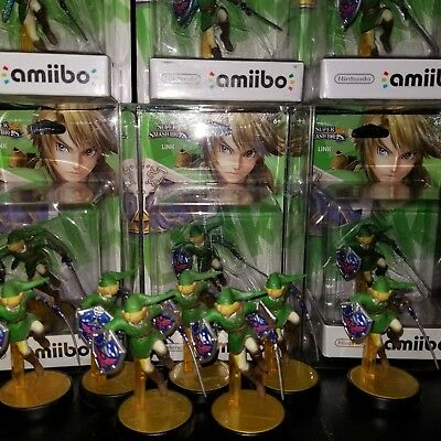Link Amiibo Super Smash Bros Series Ultimate Nintendo Switch US Version