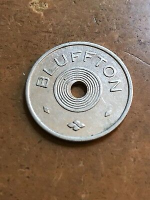 Bluffton IN good for 3c with milk bottle trade token