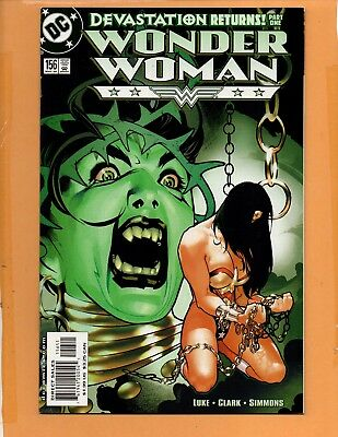 Wonder Woman #156 2nd series Adam Hughes cover NM to NM+