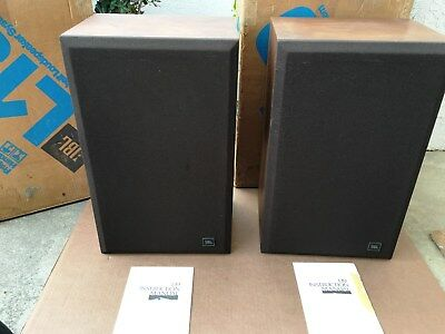 Vintage Pair of JBL L19 Speakers in Original Boxes with Instructions  NICE!