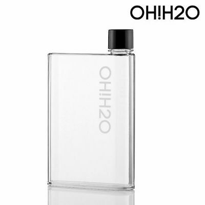 H2O A6 Water Bottle Flask Canteen Notebook Slim Portable Bag Work School Small