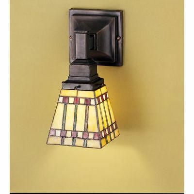 Meyda Tiffany 24275 Tiffany Glass Stained Glass / Tiffany Down Lighting Sconce
