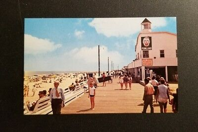 Vintage View - Greetings from Rehoboth Beach, DE - Funland Clown on Boardwalk