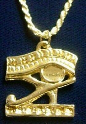 LOOK Egyptian EYE OF HORUS Celtic pendant charm Jewelry